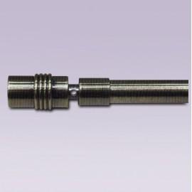 Punta de cilindro con adaptador para tubo de 11 mm