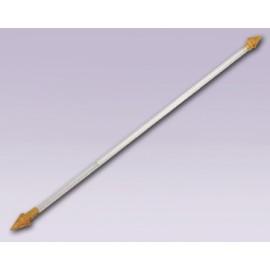 Cortinero de flecha de lanza ajustable con tubo de 10 mm