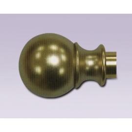 Cortinero de esfera ajustable con tubo de 15.7 mm
