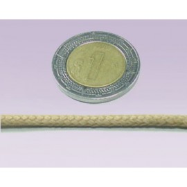 Cordon 3 mm liso beige