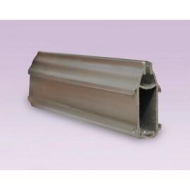 Contrapeso de lujo en aluminio 36 mm anodizado natural