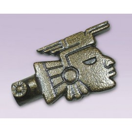 Punta cara prehispanica metalica