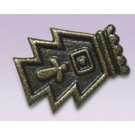 Punta escultura prehispanica metalica
