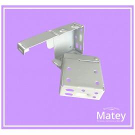 Caja soporte metálico