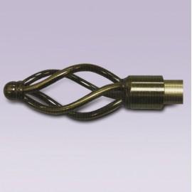 Cortinero enredadera ajustable con tubo de 15.7 mm
