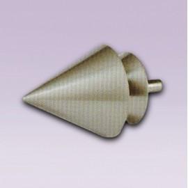 Cortinero ajustable de pirinola tipo forja con tubo de 20.7 mm
